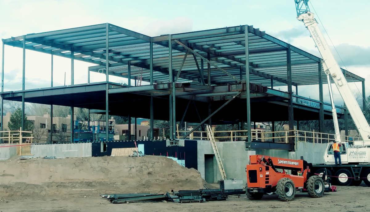 New Santa Fe County Administration Building Construction