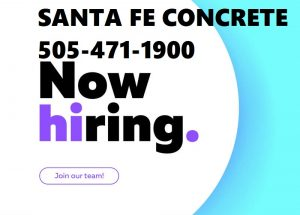 CDL Driver Available Santa Fe Concrete 505-471-1900 BBB