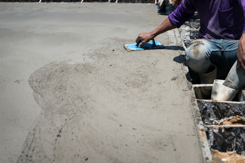How to do it yourself Easy 7 Step Concrete Patio by Santa Fe Concrete 505-471-1900 a